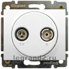 ������� TV � ����� � ������� �������, ������ Legrand Galea Life (�����)