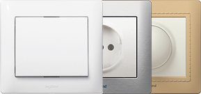 Схема подключения двойного выключателя legrand